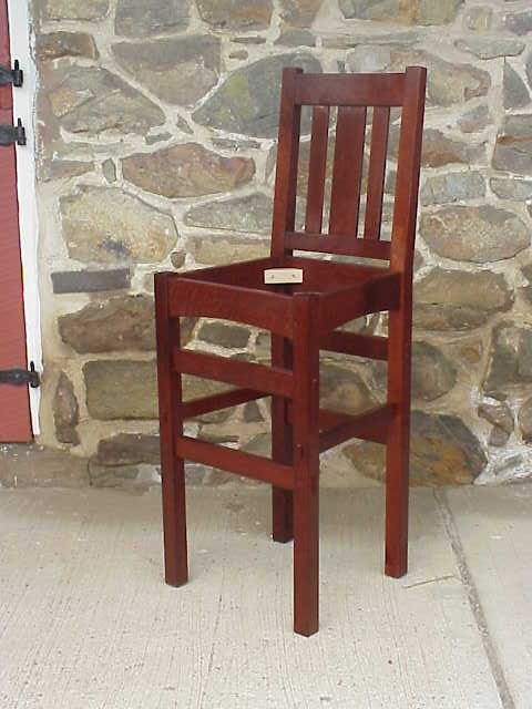Green And Craftsman Style Bar Stool A Prototype By Craftsman Style Bar Stools Best