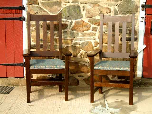 Straight Back Dining Chairs